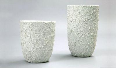 NATHALIE DOMINGO - Vase décoratif-NATHALIE DOMINGO-Des épines et des roses.