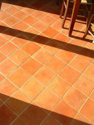 Ceramiques du Beaujolais - Carrelage de sol terre cuite-Ceramiques du Beaujolais-carreaux terre cuite