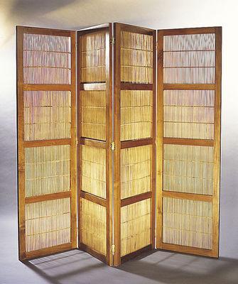 Matahati - Paravent-Matahati-Portes paravent teck & bambou