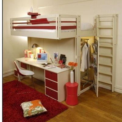 Espace Loggia - Lit mezzanine enfant-Espace Loggia-En famille ou entre amis