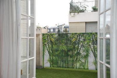VISUA - Toile décorative d'extérieur-VISUA-BRISE VUE BAMBOU