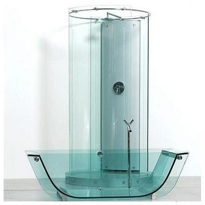 Prizma - Baignoire Ilot-Prizma-Tulip glass tub