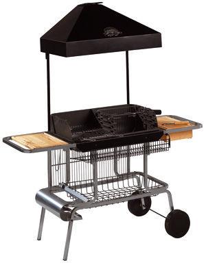 INVICTA - Barbecue au charbon-INVICTA-Barbecue grilladin de luxe