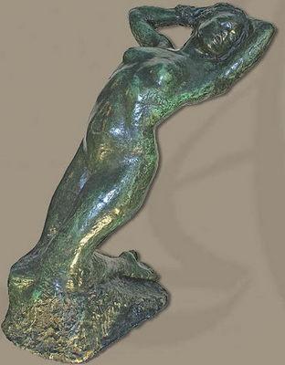 ALI�NOR ANTIQUIT�S - Sculpture-ALI�NOR ANTIQUIT�S-Nu f�minin en bronze