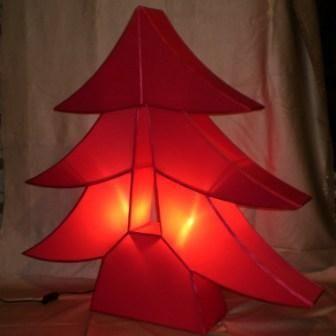 atoutdeco.com - Sapin de Noël artificiel-atoutdeco.com-Lampe en soie