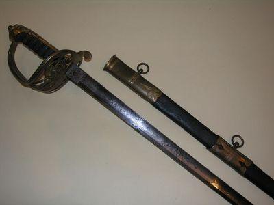 Aux Armes d'Antan - Sabre-Aux Armes d'Antan-Sabre réglementaire Anglais d?Officier d?Infanterie