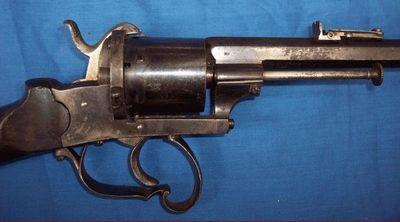 Cedric Rolly Armes Anciennes - Carabine et fusil-Cedric Rolly Armes Anciennes-CARABINE A BARILLET LEFAUCHEUX