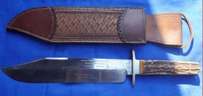 Cedric Rolly Armes Anciennes - Couteau de chasse-Cedric Rolly Armes Anciennes-ORIGINAL BOWIIE SERIE LIMITEE