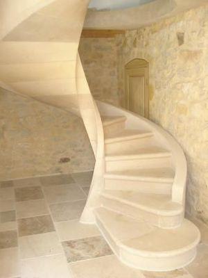 Biewesch - Escalier hélicoïdal-Biewesch-Alsace