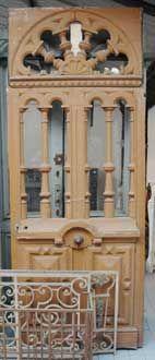 GALERIE MARC MAISON - Porte ancienne-GALERIE MARC MAISON-Entrance door