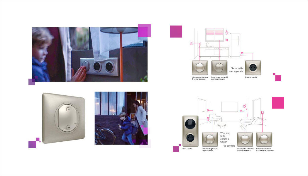 Legrand switch connected Various home automation accessories Home automation  |