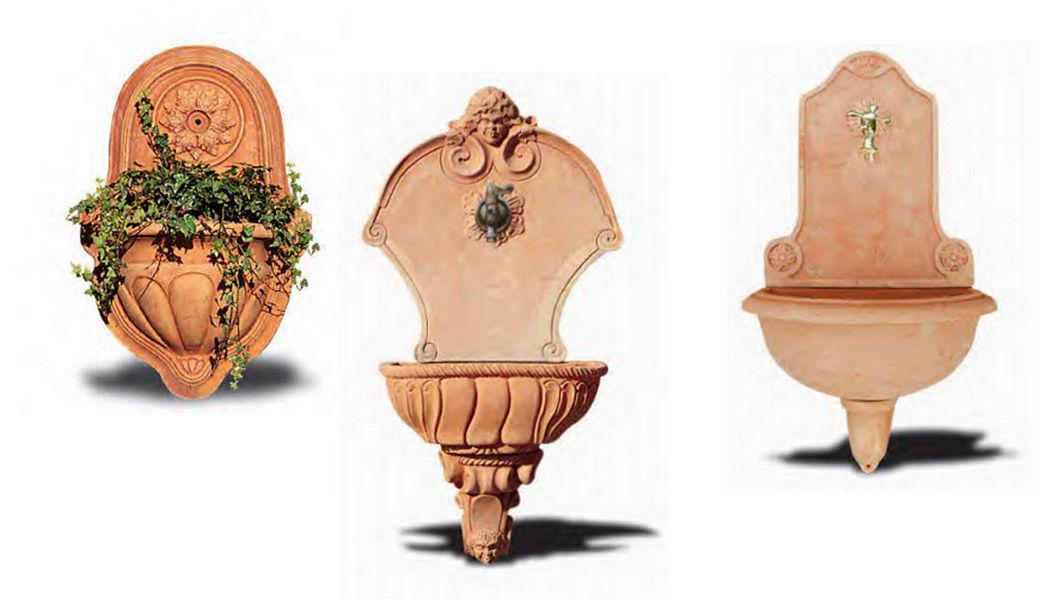 Enzo Zago Wall fountain Fountains Garden Pots  |