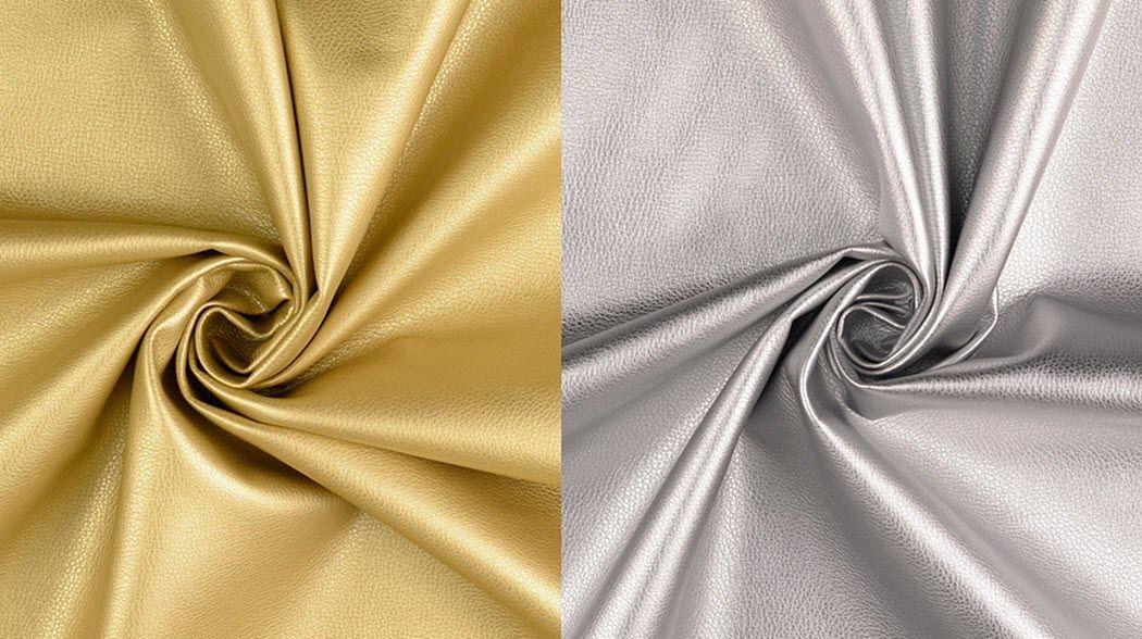 MONDIAL Tissus Imitation leather Furnishing fabrics Curtains Fabrics Trimmings  |