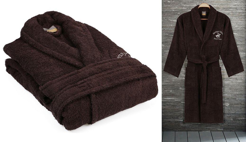 BEVERLY HILLS POLO CLUB Men's bathrobe Bathroom linen Household Linen  |