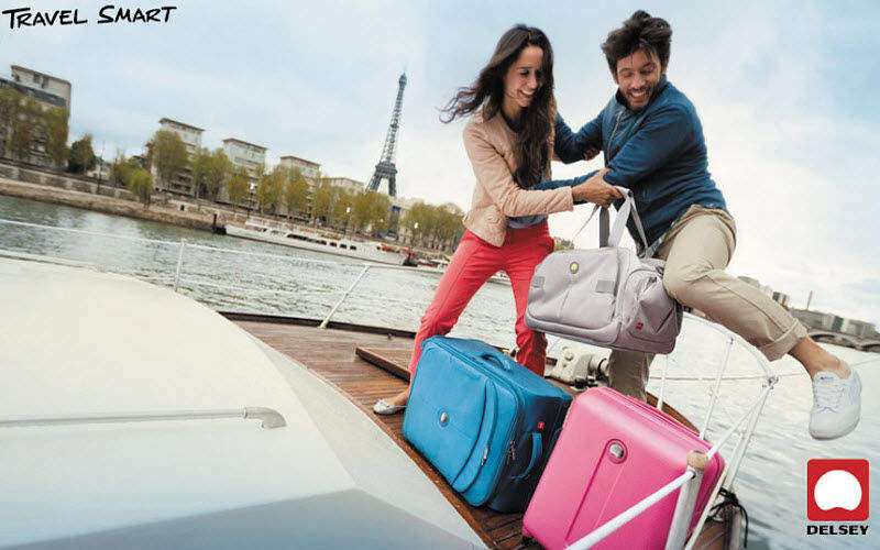 Delsey Suitcase Luggage Beyond decoration  |