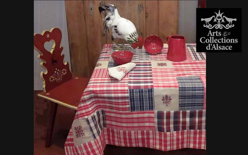 Arts Et Collections d'Alsace Square tablecloth Tablecloths Table Linen Dining room | Cottage
