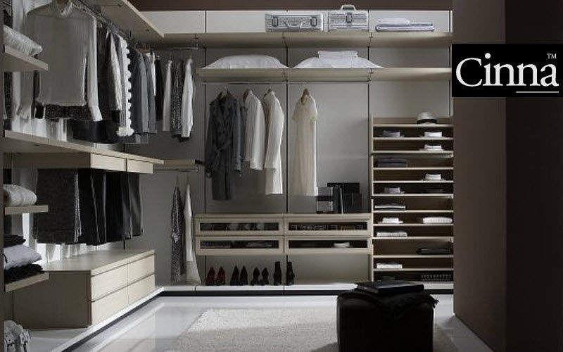 Cinna Dressing in U Dressing rooms Wardrobe and Accessories Bedroom | Design Contemporary
