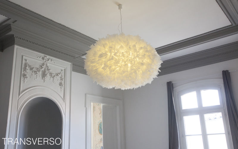 TRANSVERSO Hanging lamp Chandeliers & Hanging lamps Lighting : Indoor Living room-Bar   Cottage