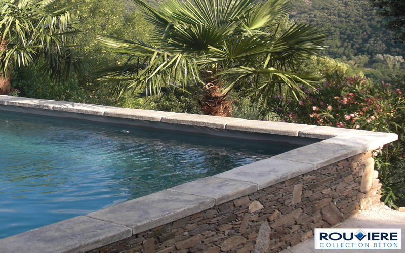 Rouviere Collection Pool border tile Kerbs and borders Swimming pools and Spa Garden-Pool | Classic