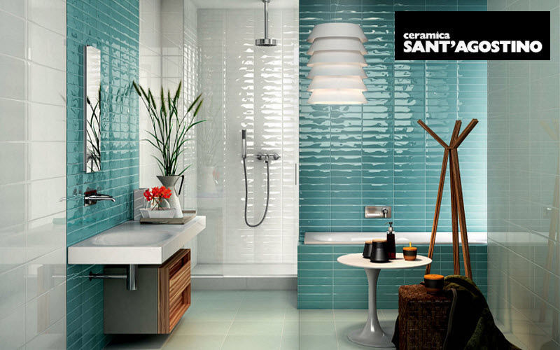 CERAMICA SANT'AGOSTINO Bathroom wall tile Wall tiles Walls & Ceilings Bathroom | Design Contemporary