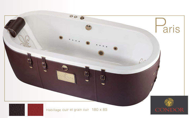 Condor Balnéo Whirlpool bath Bathtubs Bathroom Accessories and Fixtures Bathroom | Eclectic