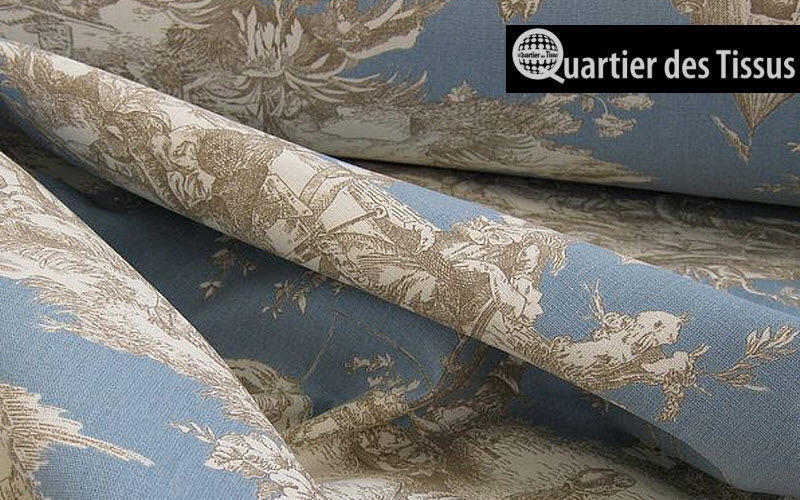 Le Quartier des Tissus Toile de Jouy print material Furnishing fabrics Curtains Fabrics Trimmings  |