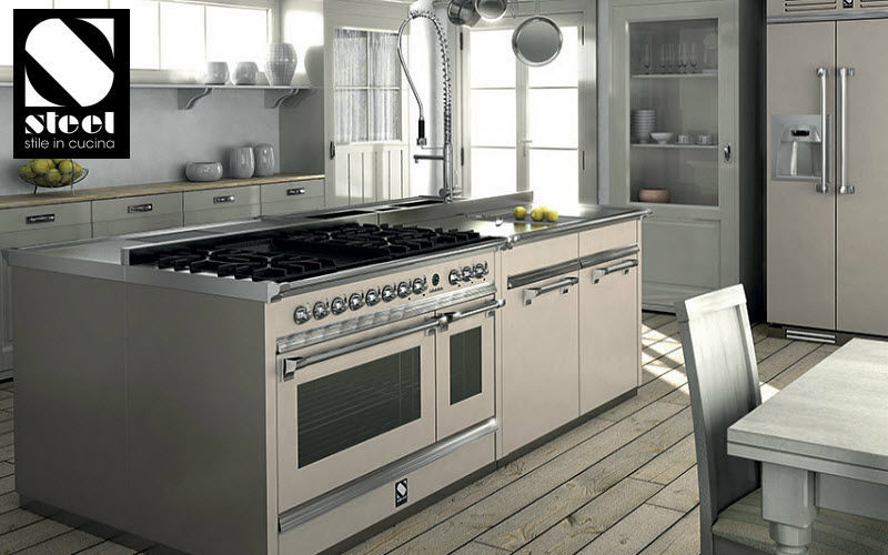 Steel Cucine Double oven Cookers Kitchen Equipment  |