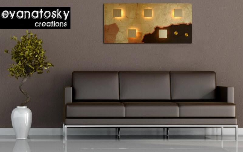 EVANATOSKY CREATION Luminous painting Paintings Art  |