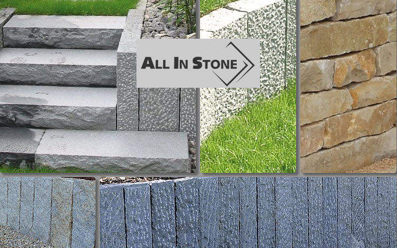 ALL IN STONE Low wall Fences and borders Garden Gazebos Gates...  |