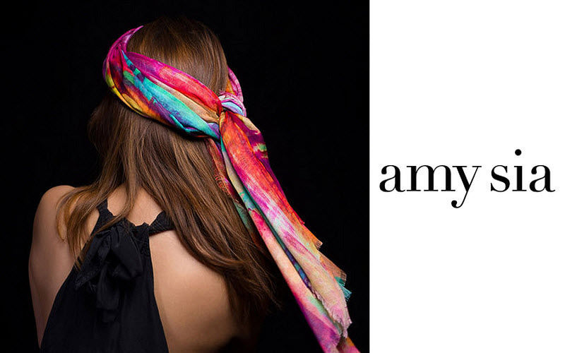 AMY-SIA Scarf Clothing Beyond decoration  |