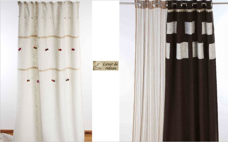 Lever de Rideau Eyelet curtain Curtains Curtains Fabrics Trimmings  |