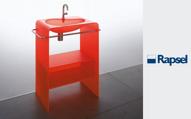 RAPSEL Washbasin with legs Sinks and handbasins Bathroom Accessories and Fixtures  |