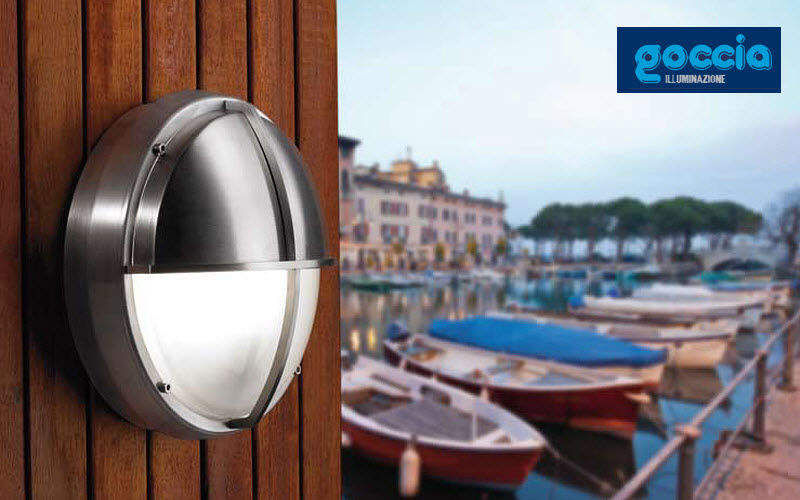 Goccia Outdoor wall lamp Outside wall lamp fittings Lighting : Outdoor  |