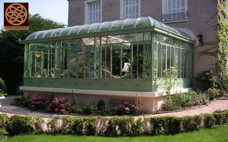 LUCIEN LONGUEVILLE Conservatory Verandas Garden Gazebos Gates...  |