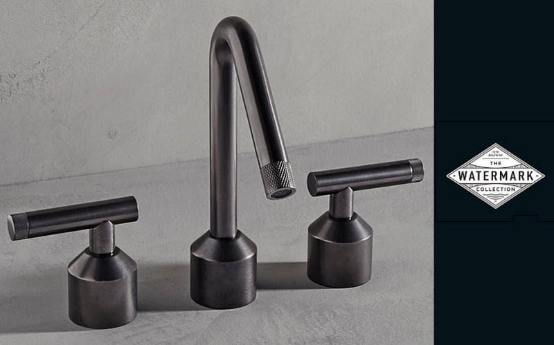 THE WATERMARK COLLECTION Three-hole basin mixer Taps Bathroom Accessories and Fixtures  |