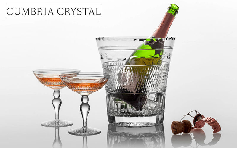 CUMBRIA CRYSTAL Champagne bucket Drink cooling Tabletop accessories  |