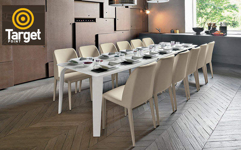 Target Point Rectangular dining table Dining tables Tables and Misc. Dining room | Design Contemporary