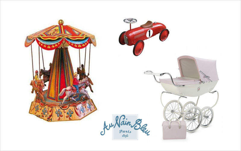 Au Nain Bleu Musical Carousel Child musical instrument Games and Toys  |