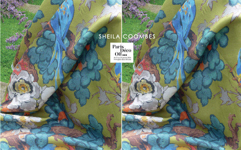 SHEILA COOMBES Upholstery fabric Furnishing fabrics Curtains Fabrics Trimmings  |