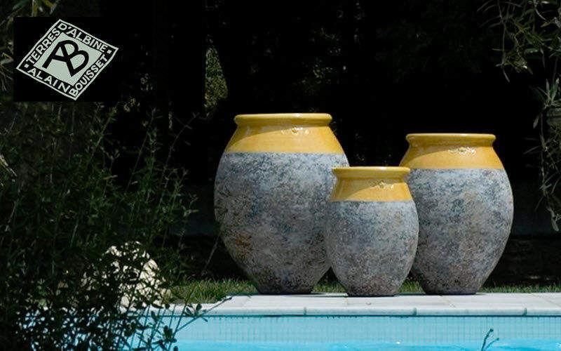TERRES D'ALBINE Jar Flowerpots Garden Pots   