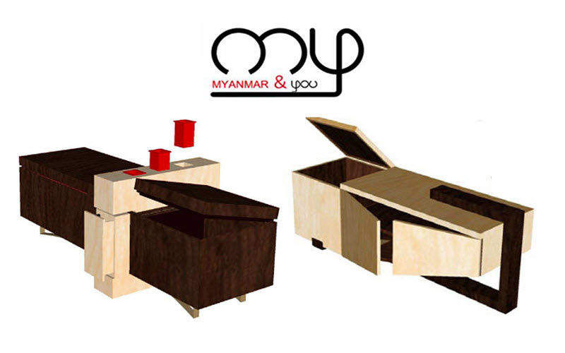 MYANMAR AND YOU Blanket chest Benches Seats & Sofas  |