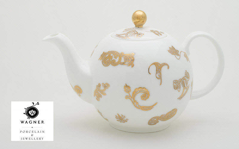 WAGNER PORCELAIN & JEWELLERY Teapot Coffee and tea pots Crockery  |