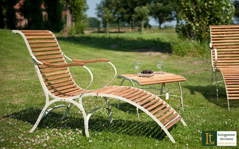 Livingstone Terrasso Garden Deck chair Garden chaises longues Garden Furniture  |