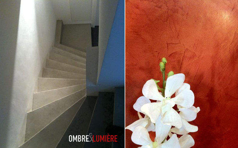 Ombre et lumière Lime stucco Alternative wall surfaces Walls & Ceilings  |