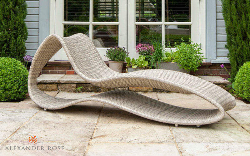 Alexander Rose Sun lounger Garden chaises longues Garden Furniture  |