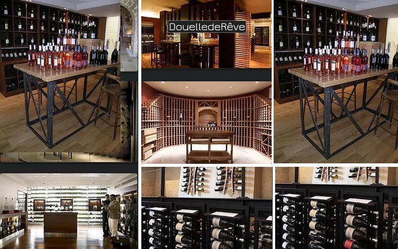 Douelledereve Architect's layout Bars Restaurants Interior decoration plans Houses  |