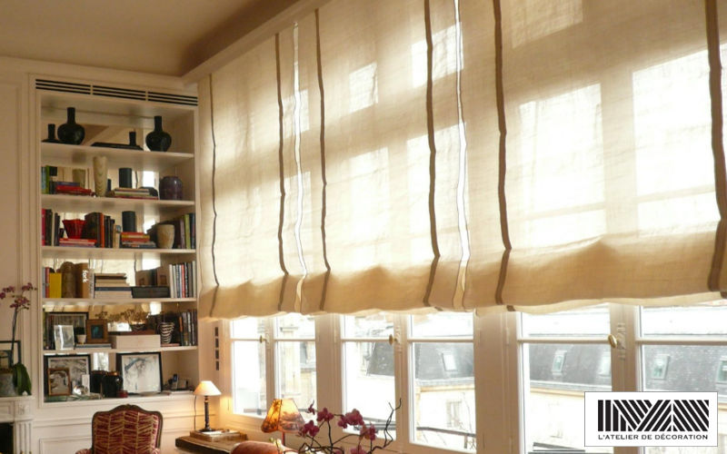 Maïte Mariana - L'Atelier de Décoration Boat blind Blinds Curtains Fabrics Trimmings   
