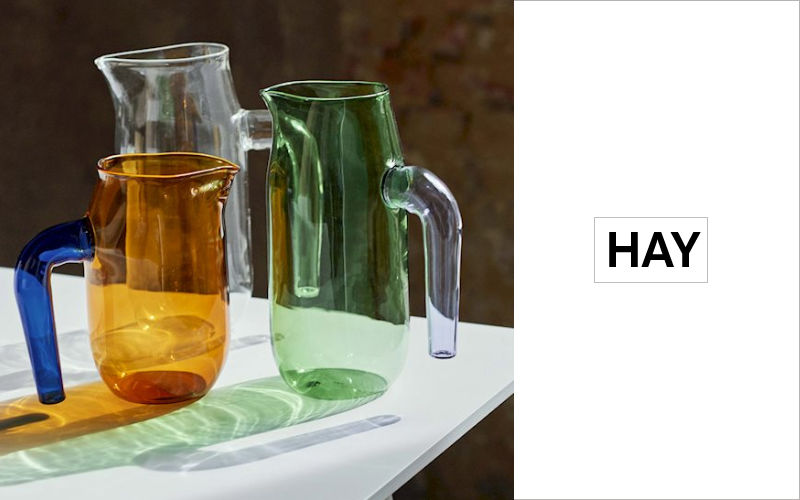 Hay Pitcher Bottles & Carafes Glassware  |
