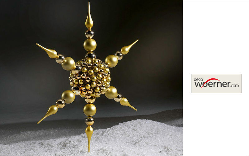 Deco Woerner Christmas star Christmas decorations Christmas and Holidays   