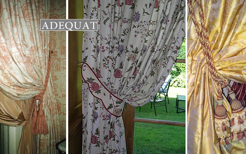 ADEQUAT-TIssUS Double curtain Curtains Curtains Fabrics Trimmings  |